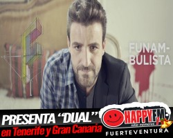 """Funambulista presenta  """"Dual"""" en directo en Tenerife y Gran Canaria"""