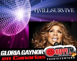 Gloria Gaynor de concierto en Canarias