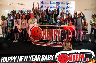 (fotos) Happy New Year Baby desde el Centro Comercial Las Rotondas