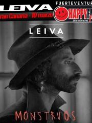 """Leiva presenta sus """"Monstruos"""" en Gran Canaria"""