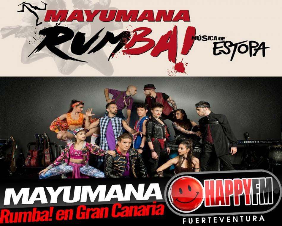 Mayumana presenta el musical de Estopa en Gran Canaria