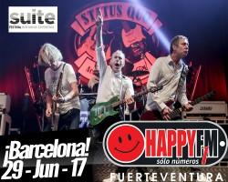 Status Quo cerrará el Suit Festival de Barcelona