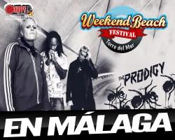 Confirmado The Prodigy para el Weekend Beach Festival