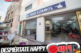 """(fotos) Despiértate Happy desde la cafetería """"Aquí Estamos"""""""