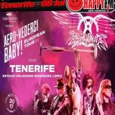 Cierre de gira de la carrera de Aerosmith en Tenerife