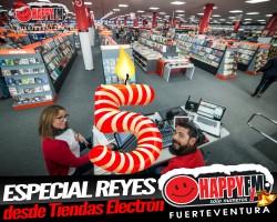 (fotos) Especial Víspera de Reyes en directo desde Tiendas Electrón