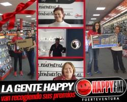 La Gente Happy van recogiendo sus premios