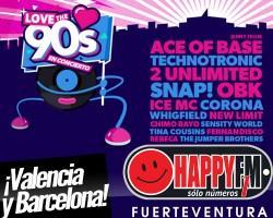 Dos nuevas fechas para el Love The 90s Festival