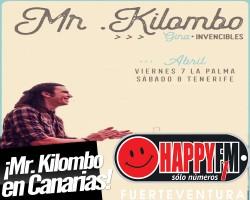 Mr. Kilombo de gira por Canarias