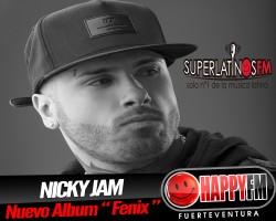 "Nuevo Album Nicky Jam ""Fenix"""