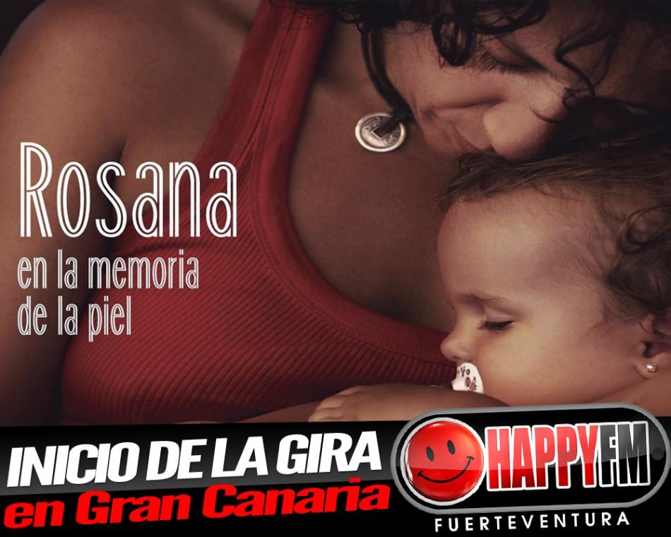 Rosana arranca su gira en Gran Canaria