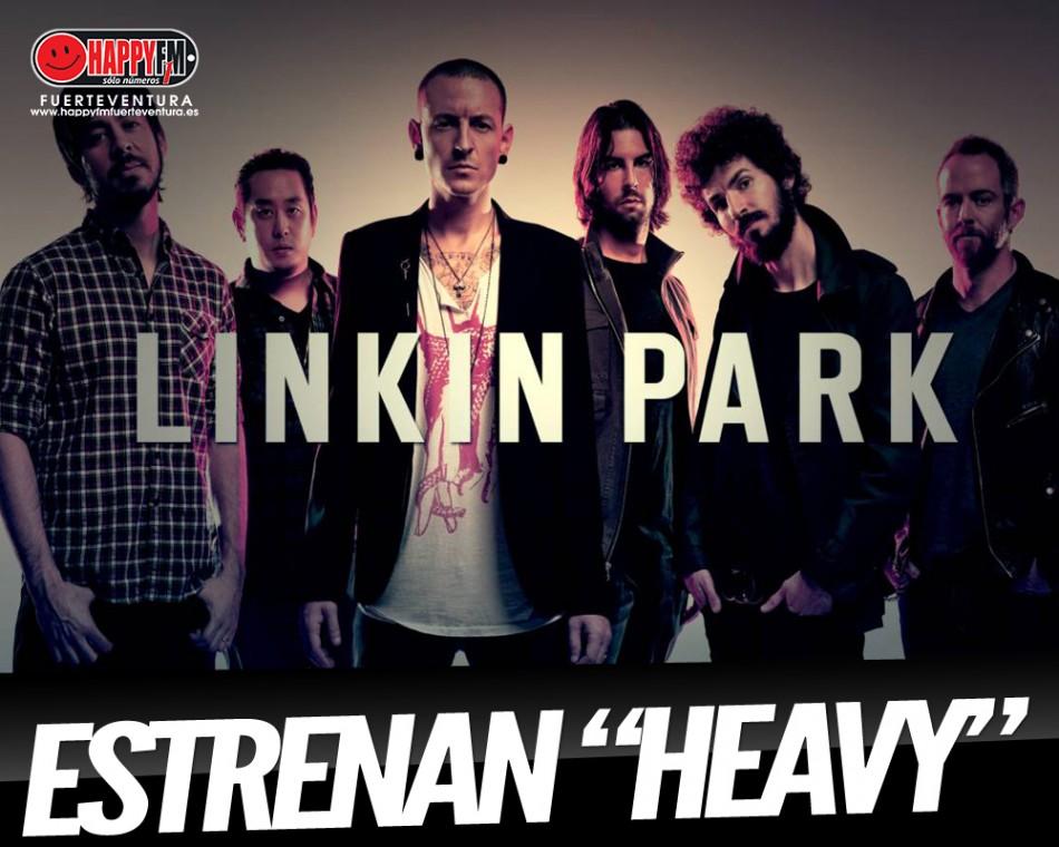 """Linkin Park sorprenden con """"Heavy"""", su nuevo single"""