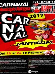 Carnavales en el municipio de Antigua (del 16 al 26 de Febrero)