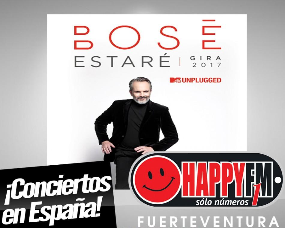 Primeras fechas de Miguel Bosé en nuestro país