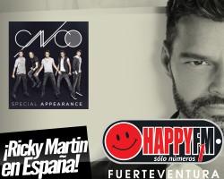 Se anuncian las fechas de la gira de Ricky Martin en nuestro país