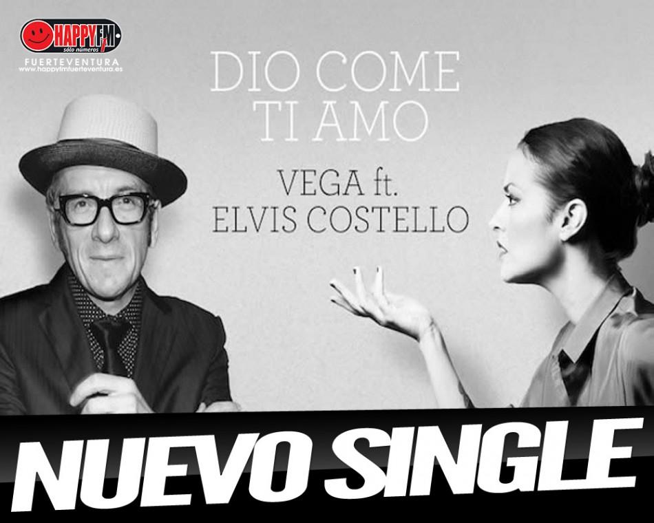 Vega estrena colaboración con Elvis Costello
