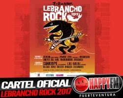 YA ESTÁ AQUÍ!!!! Cartel Oficial del Lebrancho Rock 2017
