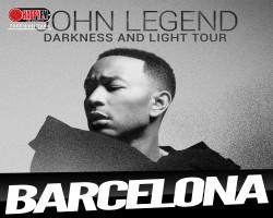 Único concierto de John Legend en España