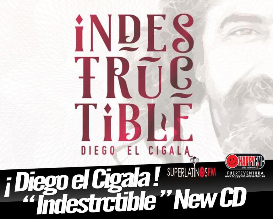 """Diego el Cigala Sorprende con Ritmos Latinos con raíces Flamencas """"Indestructible"""""""