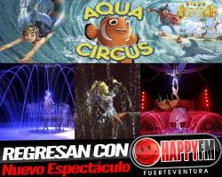 """Regresa el Circo Alegría con el espectáculo """"Aqua Circus"""""""