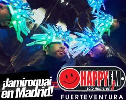 Jamiroquai anuncia concierto en Madrid