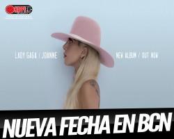 Segunda fecha para ver a Lady Gaga en Barcelona