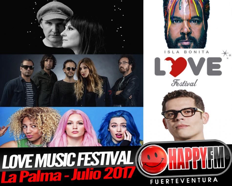 Love Music Festival, el festival del amor y de la música en la Isla de La Palma