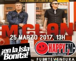 Concierto de M Clan en La Palma