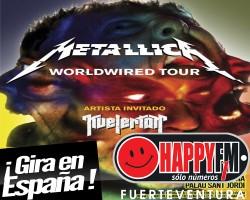 Metallica de concierto en España