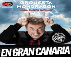 Javier Gurruchuga con su Orquesta Mondragón en Gran Canaria