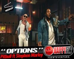 "Pitbull presenta el videoclip de ""Options"" junto a Stephen Marley"