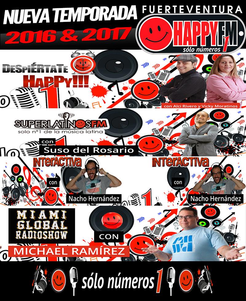 Equipo HappyFMFuerteventura Temporada 2016/17