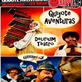 """Teatro Infantil en Antigua: """"Quijote Aventuras"""""""