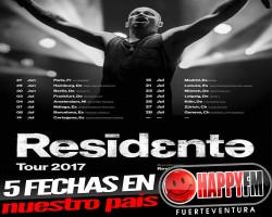 Residente anuncia fechas para su gira en nuestro país