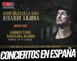 Ricardo Arjona de gira en España