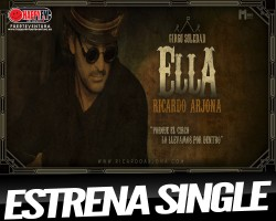 """Ricardo Arjona estrena """"Ella"""""""