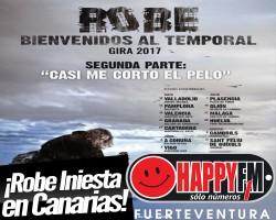 Robe Iniesta anuncia fechas en Canarias