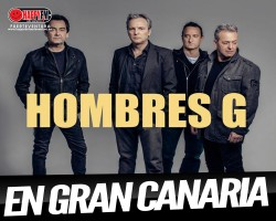 Hombres G de concierto en Gran Canaria