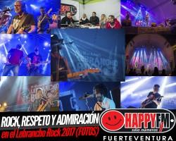 (fotos) Rock, respeto y admiración en el Lebrancho Rock 2017