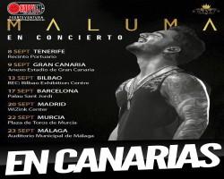 Maluma arrancará su gira española en Canarias