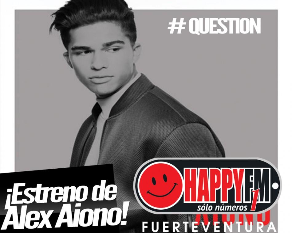 """Alex Aiono presenta """"Question"""""""