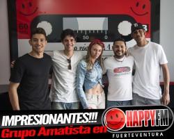 (fotos) Entrevista very  Happy al grupo Amatista