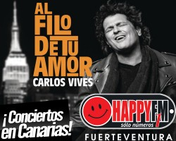Conciertos de Carlos Vives en Canarias