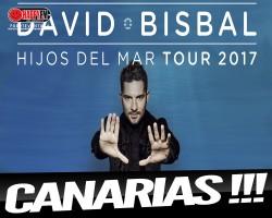 El Hijos del Mar Tour 2017 de David Bisbal pasará por Canarias
