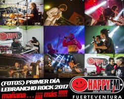 (fotos) Primera jornada del Lebrancho Rock 2017… ¡Mañana Más!