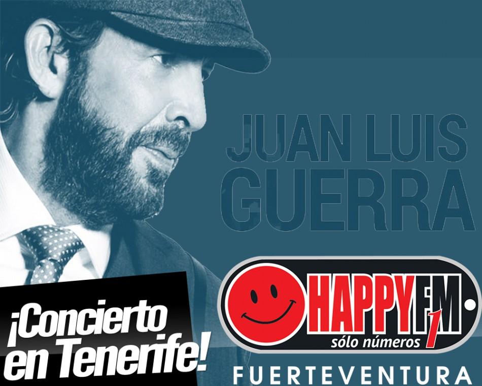 Juan Luís Guerra regresa a Tenerife