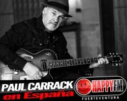 Paul Carrack de concierto en nuestro país