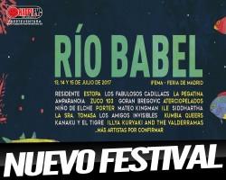 Nace el festival Río Babel