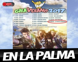 Concierto de Bombai en La Palma