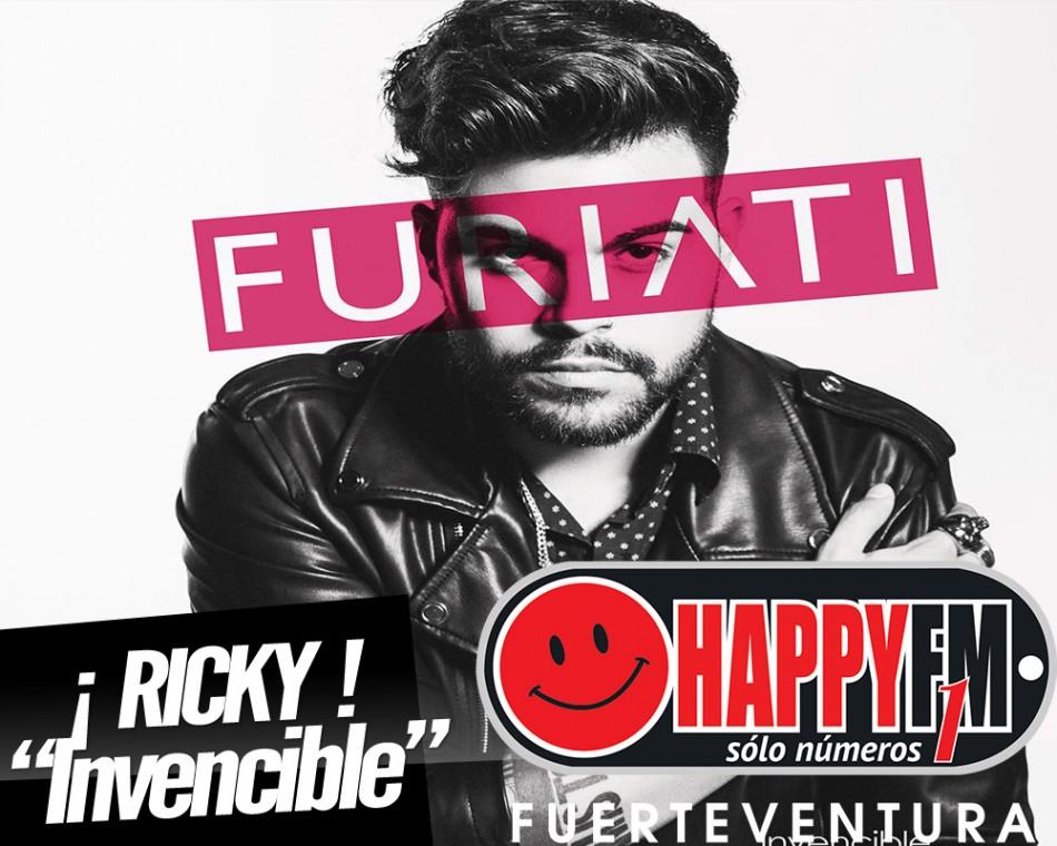 """A la venta """"Invencible"""": álbum debut de Ricky Furiati"""